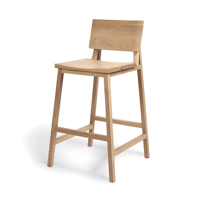 Oak N3 Counter Stool - Hausful - Modern Furniture, Lighting, Rugs and Accessories