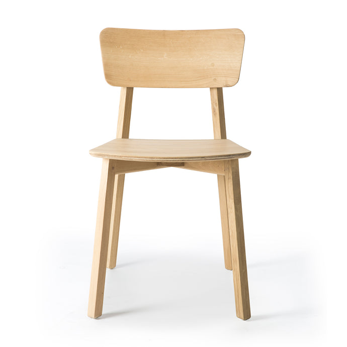Oak Casale Dining Chair - Hausful - Modern Furniture, Lighting, Rugs and Accessories