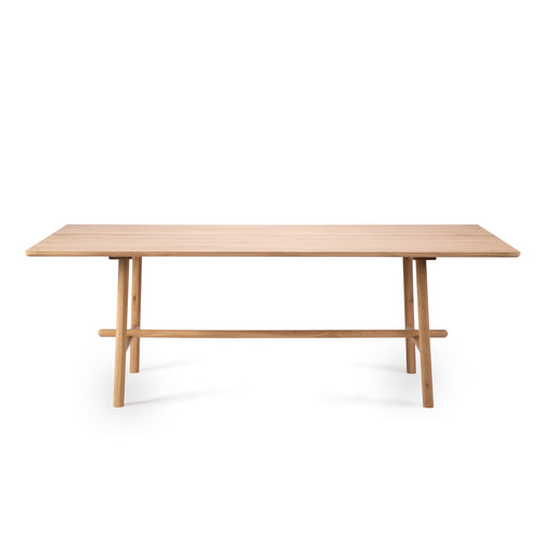 Oak Profile Dining Table - Hausful - Modern Furniture, Lighting, Rugs and Accessories