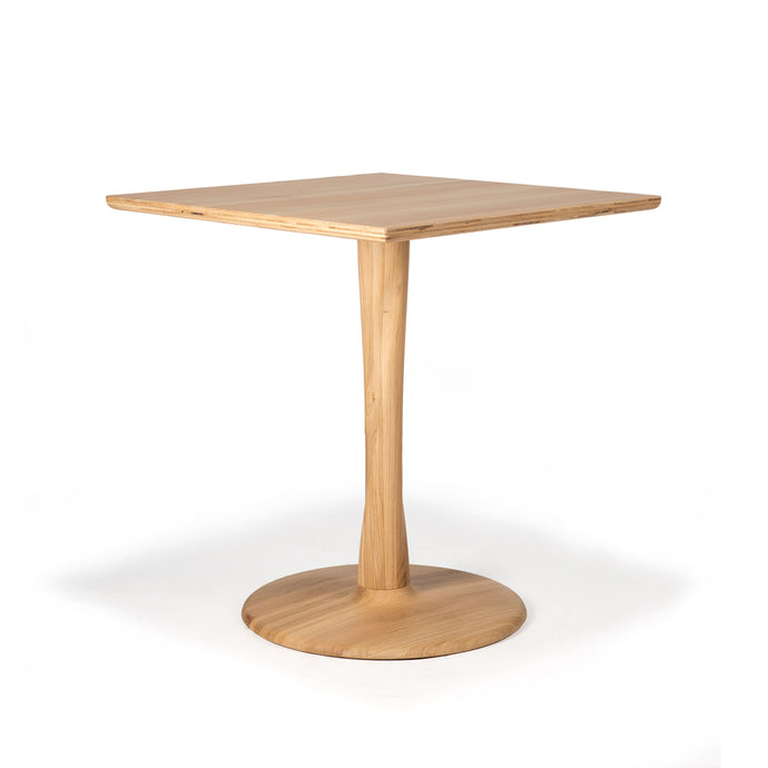 Oak Torsion Square Dining Table - Hausful - Modern Furniture, Lighting, Rugs and Accessories