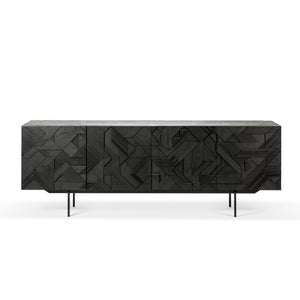 Graphic Sideboard - Hausful - Modern Furniture, Lighting, Rugs and Accessories