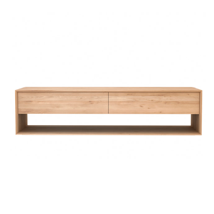 Oak Nordic TV Cupboard - 71