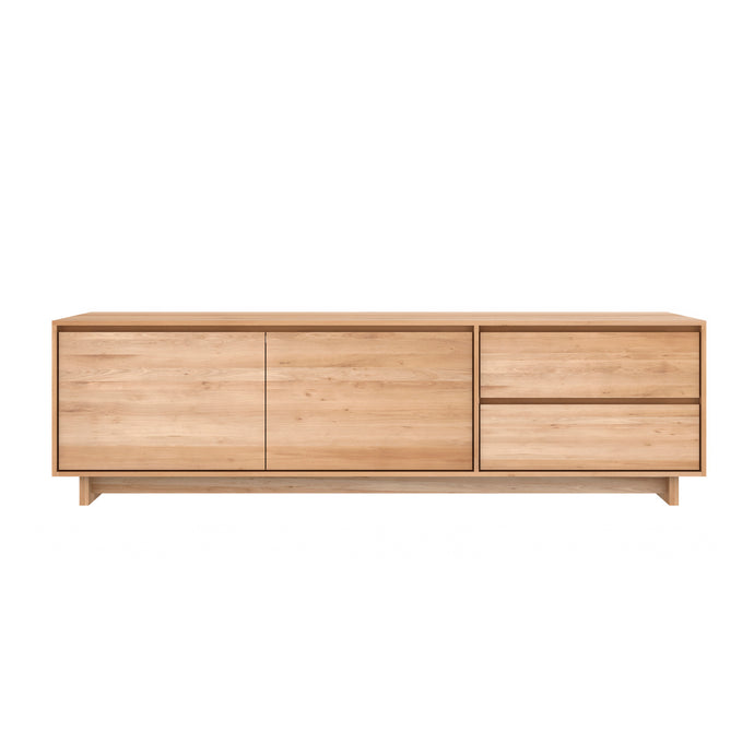 Oak Wave TV Cupboard - 83
