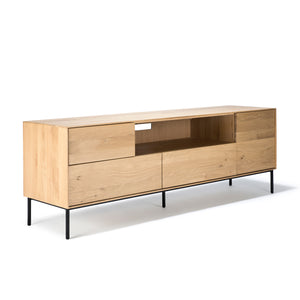 Oak Whitebird TV Cupboard - Hausful - Modern Furniture, Lighting, Rugs and Accessories
