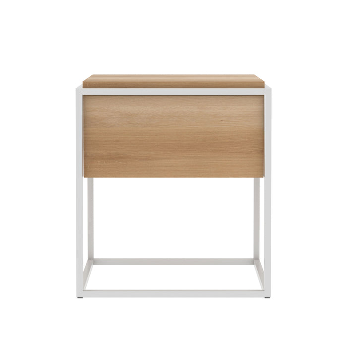 Oak Monolit Bedside Table - Hausful - Modern Furniture, Lighting, Rugs and Accessories
