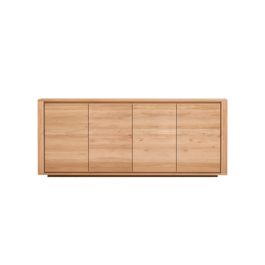 Oak Shadow Sideboard - 80