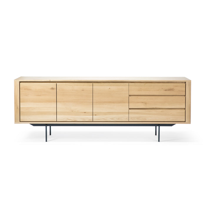 Oak Shadow Sideboard with Legs - 88