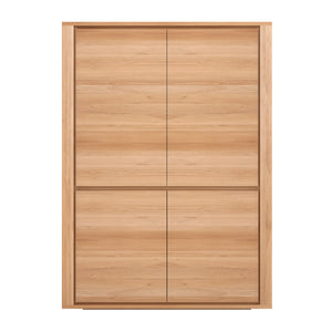 Oak Shadow Storage Cupboard - Hausful - Modern Furniture, Lighting, Rugs and Accessories