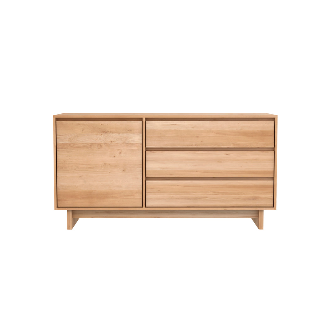 Oak Wave Sideboard - 58
