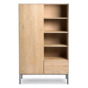 Oak Whitebird Storage Cupboard - Hausful - Modern Furniture, Lighting, Rugs and Accessories