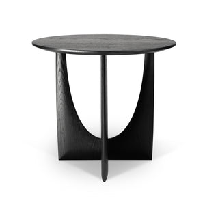 Oak Geometric Side Table - Hausful - Modern Furniture, Lighting, Rugs and Accessories