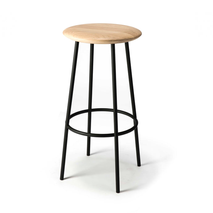 Oak Baretto Bar Stool - Hausful - Modern Furniture, Lighting, Rugs and Accessories