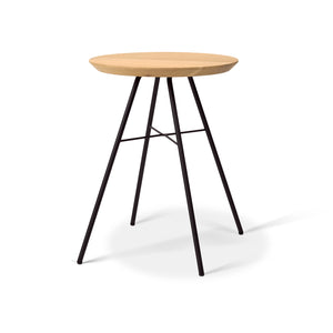 Oak Disc Stool - Hausful - Modern Furniture, Lighting, Rugs and Accessories