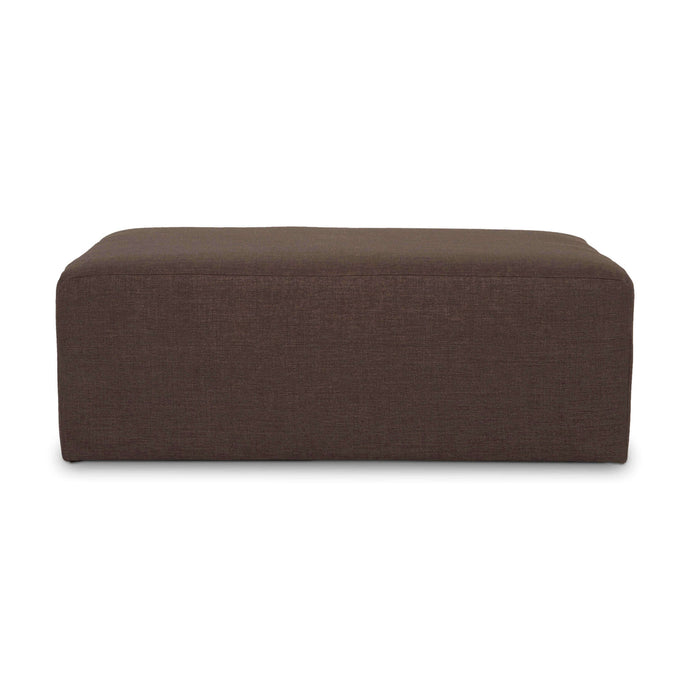 Morten Ottoman - Fabric - Hausful - Modern Furniture, Lighting, Rugs and Accessories