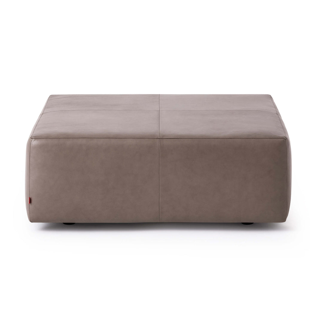 Morten Ottoman - Leather - Hausful - Modern Furniture, Lighting, Rugs and Accessories