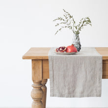 Load image into Gallery viewer, Washed Linen Table Runner