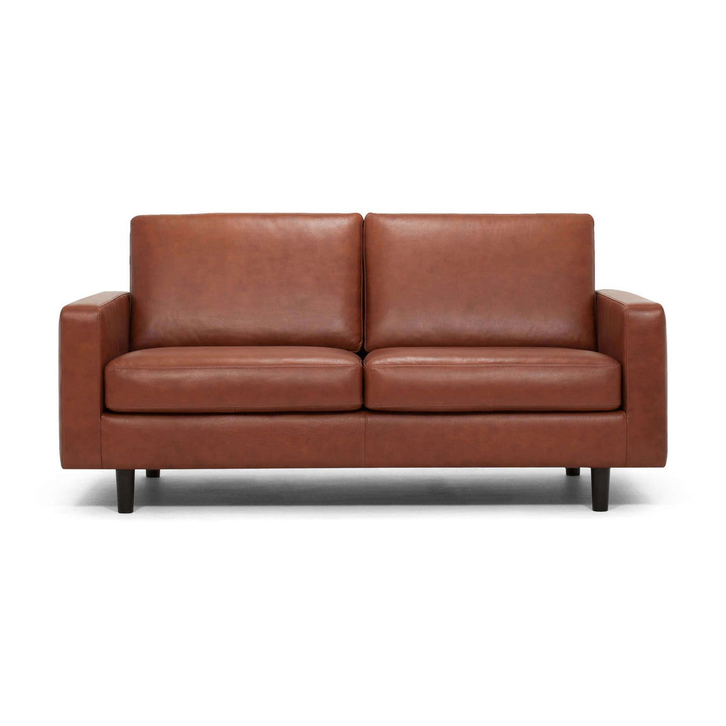 Oskar Loveseat - Leather - Hausful - Modern Furniture, Lighting, Rugs and Accessories