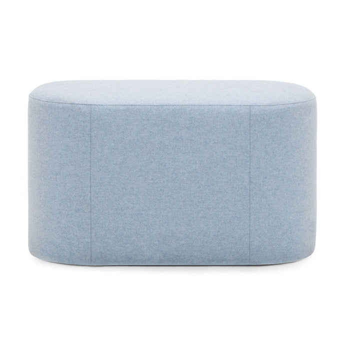 Oval Ottoman - Fabric - Hausful - Modern Furniture, Lighting, Rugs and Accessories