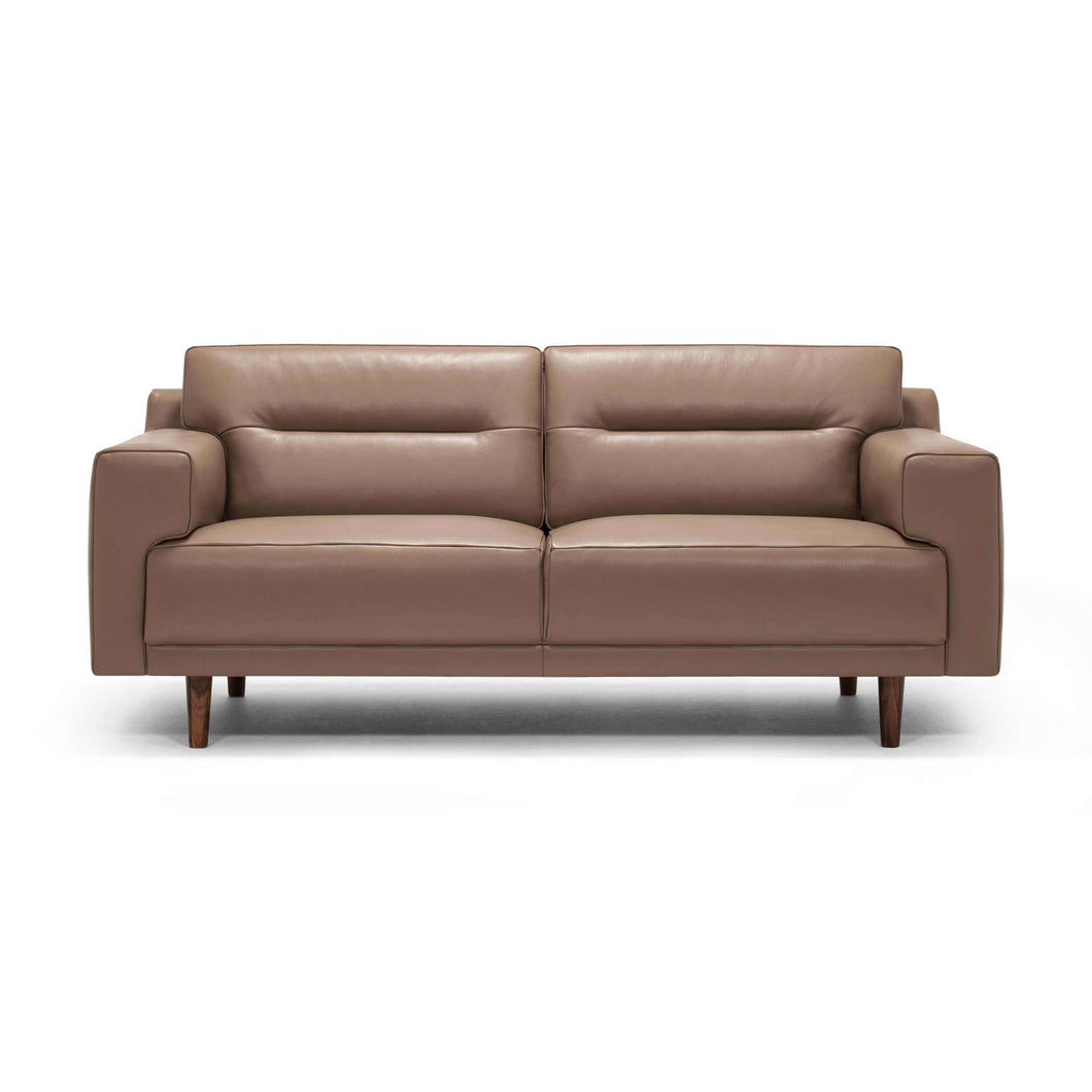 Remi Loveseat - Horizontal Pull - Leather - Hausful - Modern Furniture, Lighting, Rugs and Accessories