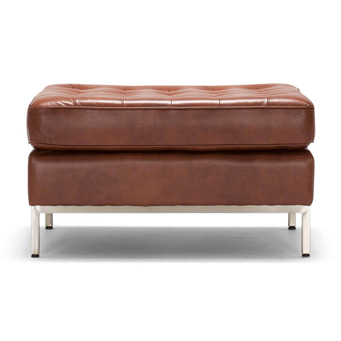 Reverie Ottoman - Leather - Hausful - Modern Furniture, Lighting, Rugs and Accessories