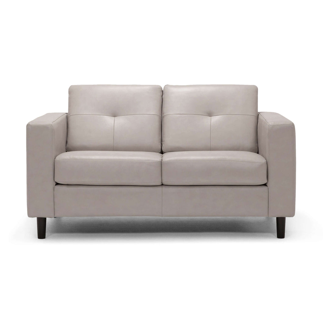 Solo Loveseat - Leather - Hausful - Modern Furniture, Lighting, Rugs and Accessories