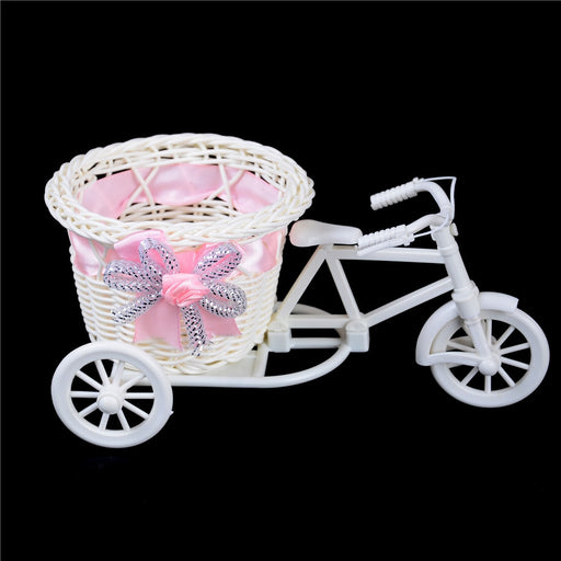 Vase Plant Holder Bike Design Basket