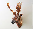 3D Modern Deer Head Home Wall Hanging Sculpture