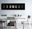 Eclipse Of The Moon Minimalist Art Long Posters & Prints