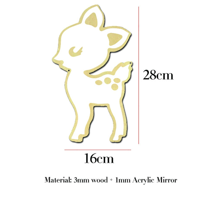 Children's Cartoon Decorative Baby Acrylic Mirror Frame