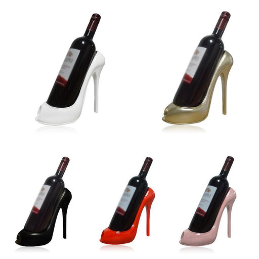 Innovative High Heel Wine Rack