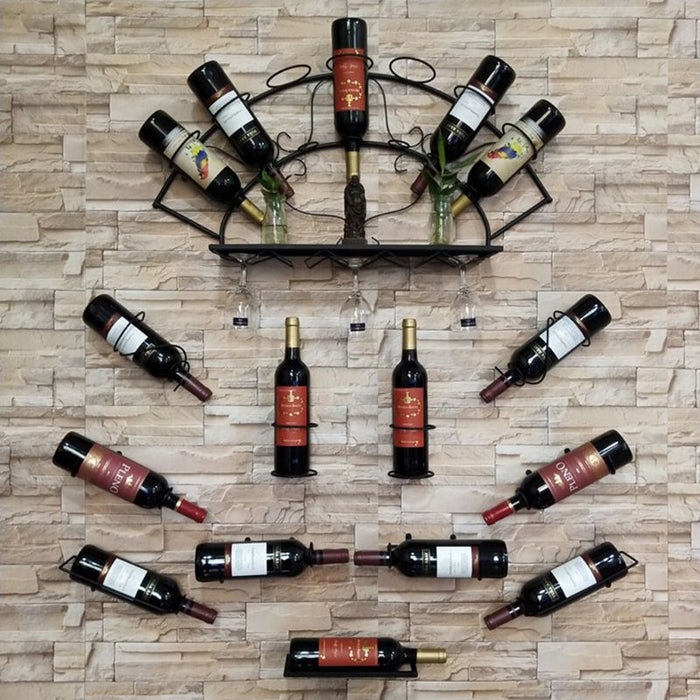 Spiral Wine Bottle Rack Holder