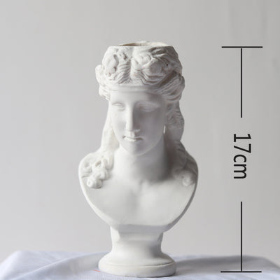 Apollo David & Many more Art Museum Sculpture Crafted Vase