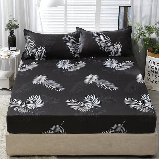 3pcs Bed Sheet With Pillowcase