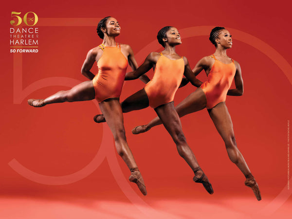 50th Anniversary Three Ballerinas Poster