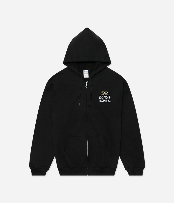 Zip Hoodie - Embroidered