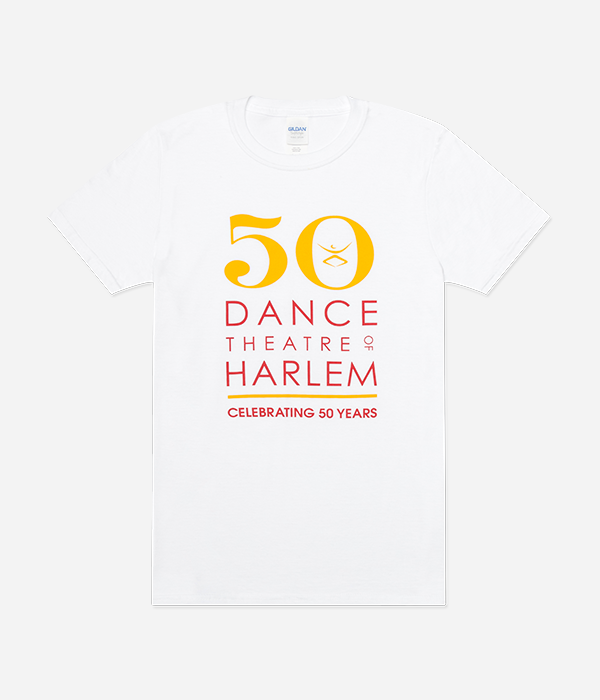 50th Anniversary Full Chest Logo Tee