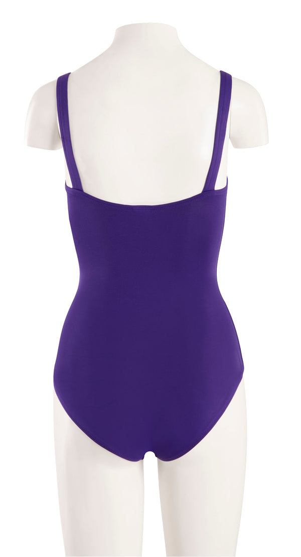 Leotard - Wide Strap w/ Embroidery