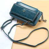 Four Leaf Clover Large Capacity Crossbody Phone Bag - popmoca