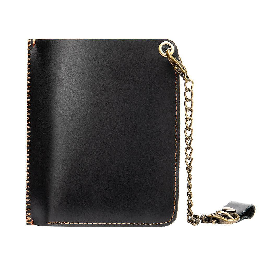 Leather RFID Minimalist Wallet with Pop-up Card Holder - popmoca