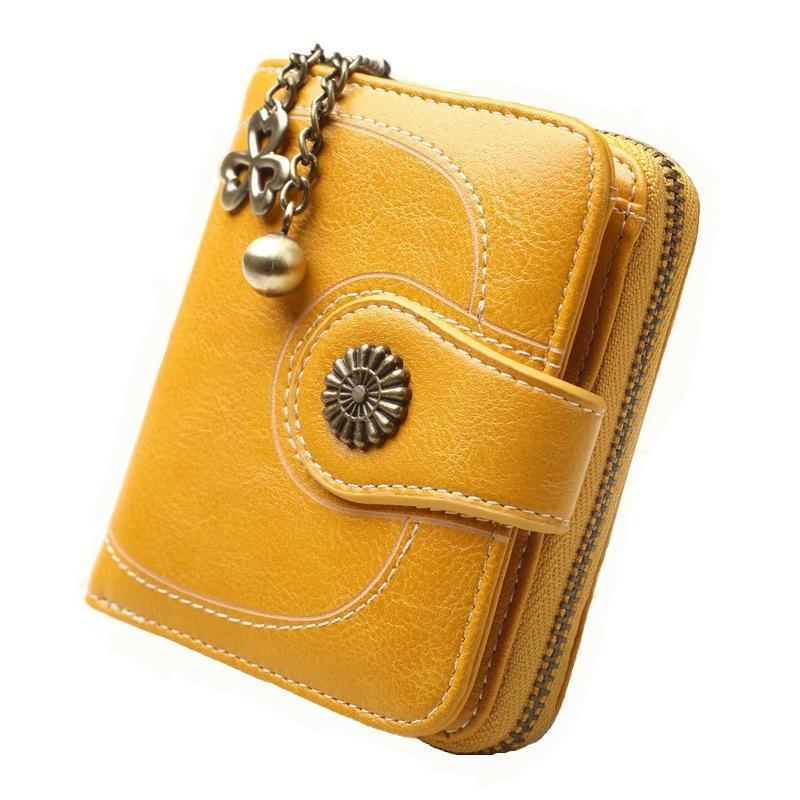 Women Cute Coin Holder Short Wallet - popmoca