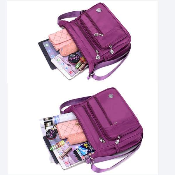 Women Waterproof Light Shoulder Bags Outdoor Sports Crossbody Bags Shoulder Bags - popmoca