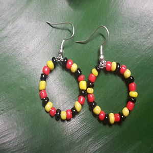 Earrings-Indigenous Hoop