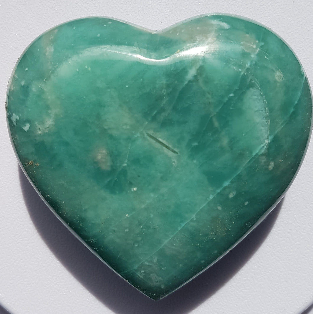 Amazonite  Heart #3  312gm