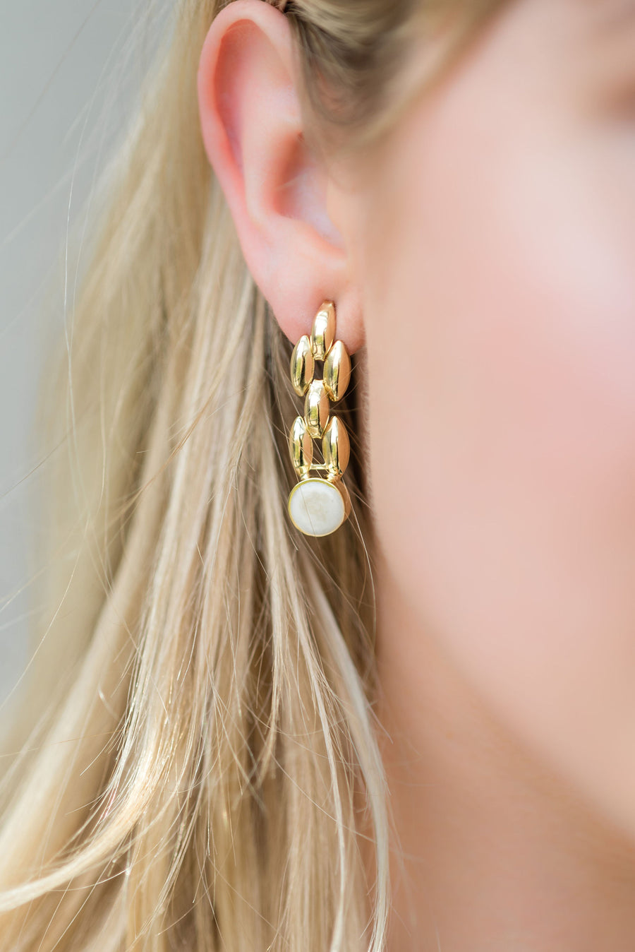 Small Bebe Earrings - 14K Gold