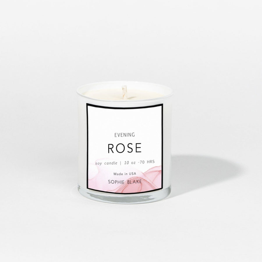 Evening Rose - 10 oz Soy Candle