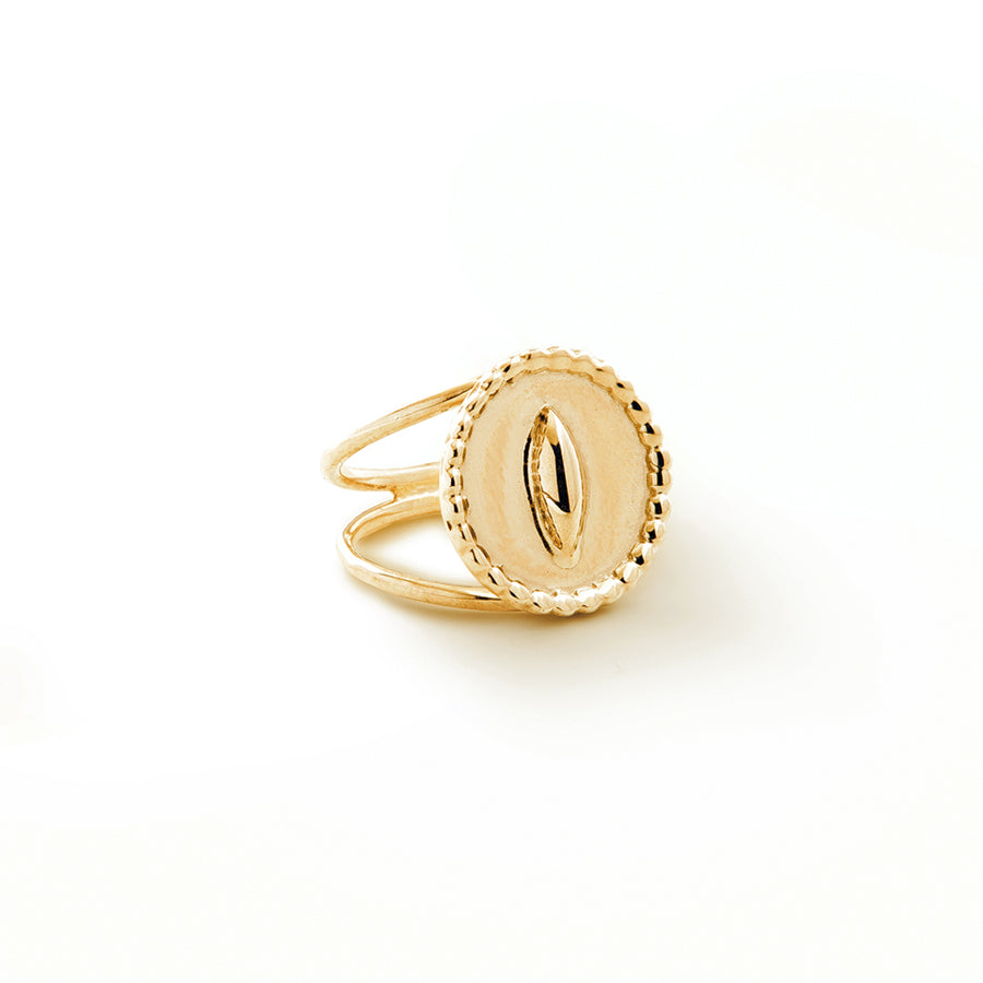 Gloria Ring - 14K Gold