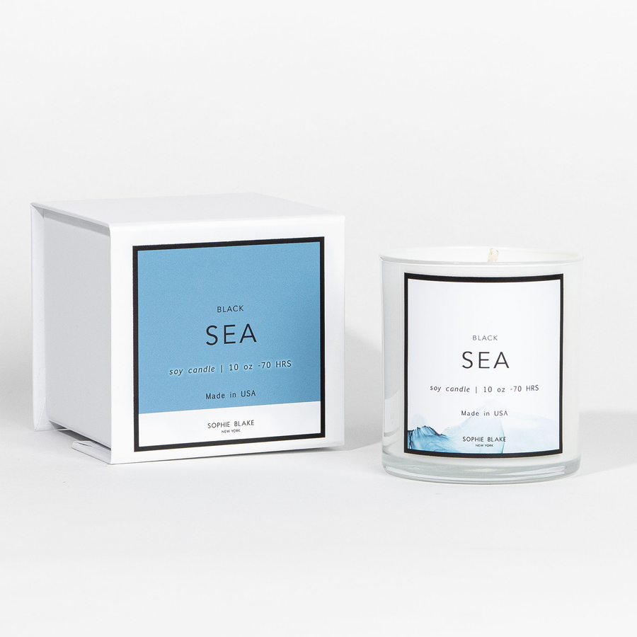 Black Sea - 10 oz Soy Candle