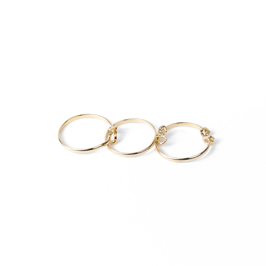Willow Ring Style III - 14K Yellow Gold