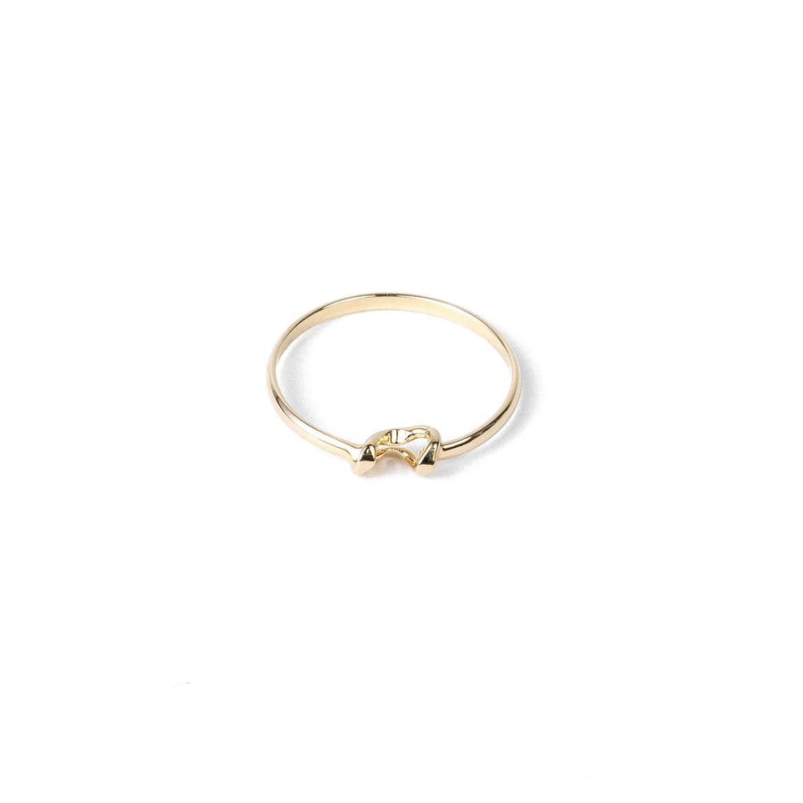 Willow Ring Style II - 14k Yellow Gold