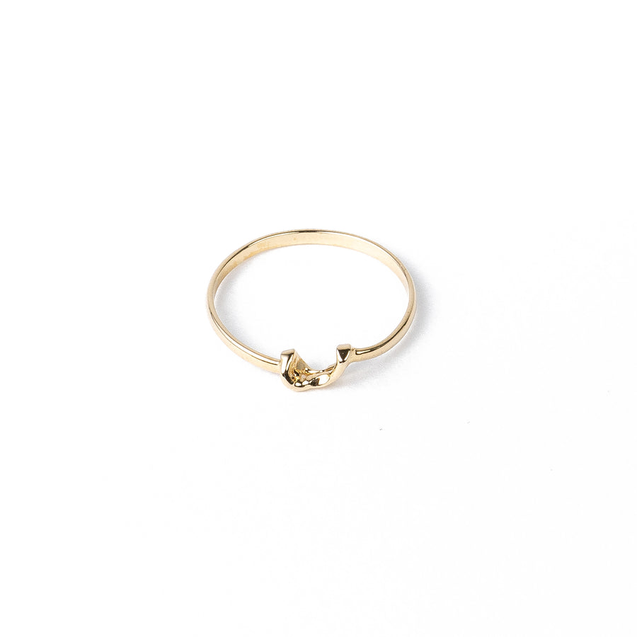 Willow Ring Style I - 14k Yellow Gold